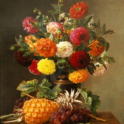 Jigsaw puzzle: Autumn bouquet