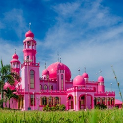 Jigsaw puzzle: Pink Mosque