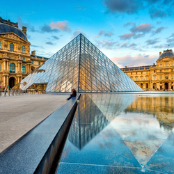 Jigsaw puzzle: Louvre