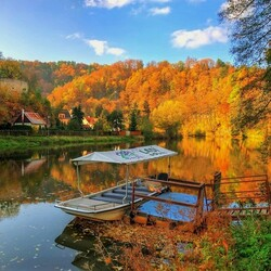 Jigsaw puzzle:  Autumn in the Czech Republic