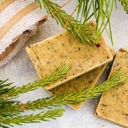 Jigsaw puzzle: Coniferous soap