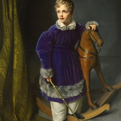 Jigsaw puzzle: King Albert of Saxony as a child