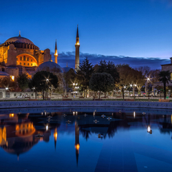 Jigsaw puzzle: Hagia Sophia in Turkey