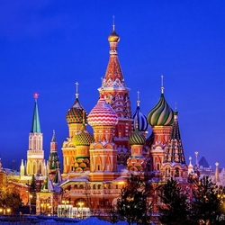 Jigsaw puzzle: Winter Moscow