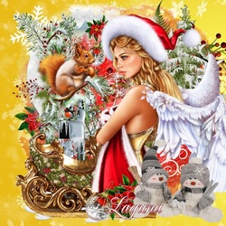 Jigsaw puzzle: Angel of Christmas