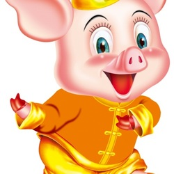 Jigsaw puzzle: Funny pig