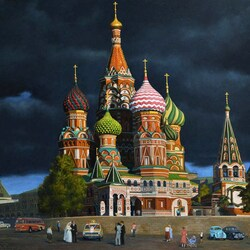 Jigsaw puzzle: Intercession Cathedral