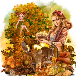 Jigsaw puzzle: Forest dwellers