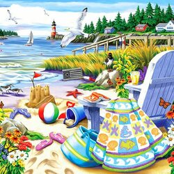 Jigsaw puzzle: Essence of Summer