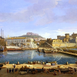 Jigsaw puzzle: Port in Naples
