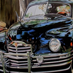 Jigsaw puzzle: Tommy and his Packard