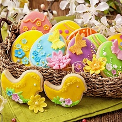 Jigsaw puzzle: Easter cookies