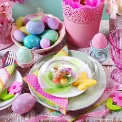 Jigsaw puzzle: Easter breakfast