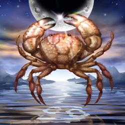 Jigsaw puzzle: Cancer (Crab)