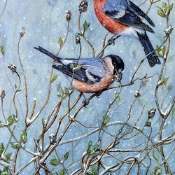 Jigsaw puzzle: Bullfinches are not weights ...