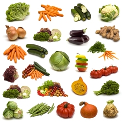 Jigsaw puzzle: Vegetable diet