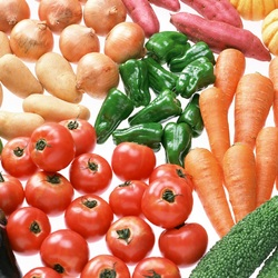 Jigsaw puzzle: Vegetables