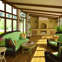 Jigsaw puzzle: Country terrace