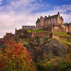Jigsaw puzzle: Edinburgh castle