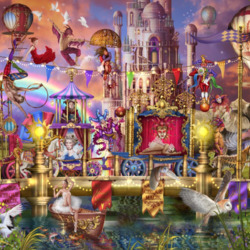Jigsaw puzzle: The magic of the circus