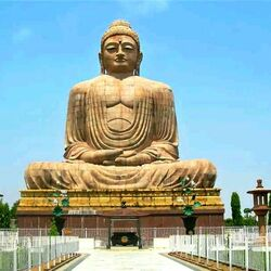 Jigsaw puzzle: Buddha statue in India