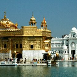 Jigsaw puzzle: Golden temple