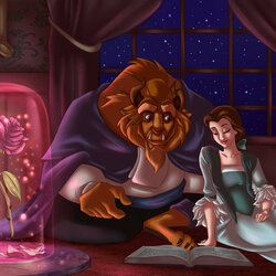 Jigsaw puzzle: The beauty and the Beast