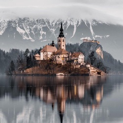 Jigsaw puzzle: Lake Bled