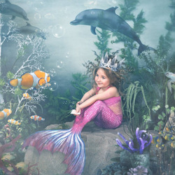Jigsaw puzzle: Sea mermaid