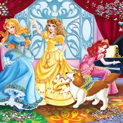 Jigsaw puzzle: Dancing princesses