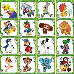 Jigsaw puzzle: Cartoons