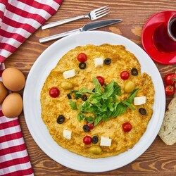 Jigsaw puzzle: Omelet