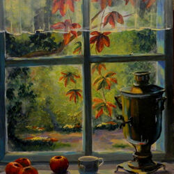 Jigsaw puzzle: Window to the garden