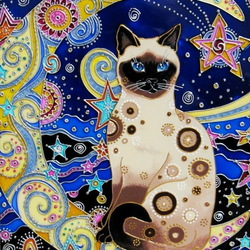 Jigsaw puzzle: Cat's planet