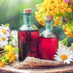Jigsaw puzzle: Aromatic oil
