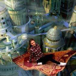 Jigsaw puzzle: Magic carpet