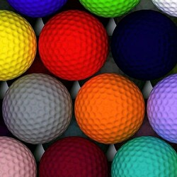 Jigsaw puzzle: Colorful balls