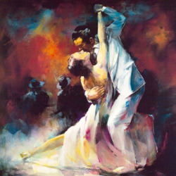 Jigsaw puzzle: Dance of love