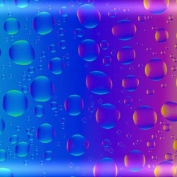 Jigsaw puzzle: Colored bubbles