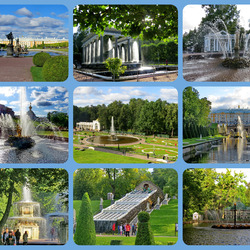 Jigsaw puzzle: Fountains of Peterhof