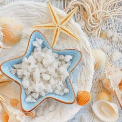 Jigsaw puzzle: Sea salt