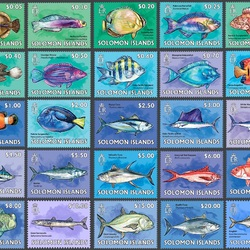 Jigsaw puzzle: Pacific fish