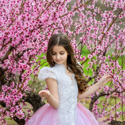 Jigsaw puzzle: Princess in spring