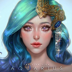 Jigsaw puzzle: Aquarius