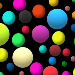 Jigsaw puzzle: Colored balls