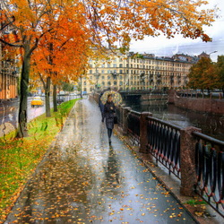 Jigsaw puzzle: Petersburg autumn ---