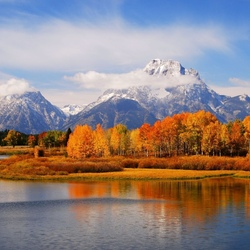 Jigsaw puzzle: Grand Teton National Park