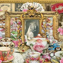 Jigsaw puzzle: Tea for two