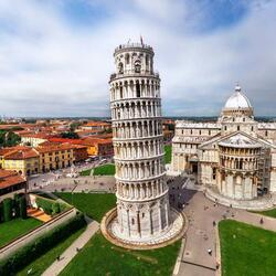 Jigsaw puzzle: Leaning tower of pisa
