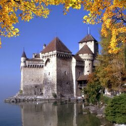 Jigsaw puzzle: Chillon Castle